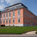 Pałac w Lomnice n. Popelkou,obecnie siedziba muzeum i biblioteki miejskiej #Czechy #miasto #rynek
