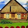 zza płota...;) #skansen #StaryDom #dom #stary #wieś