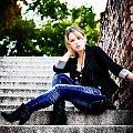 Angela #kobieta #dziewcztna #portret #schody #jesień #passiv #nikon #airking