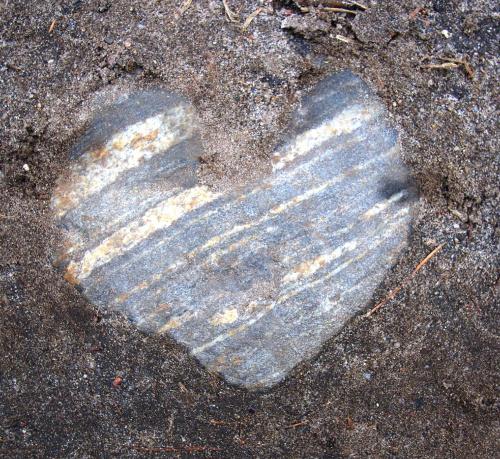 serce z kamienia #serce #kamień