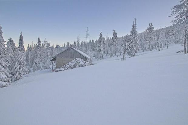 Hala Szrenicka #góry #zima #śnieg #izery #krajobraz #nikon #passiv #airking