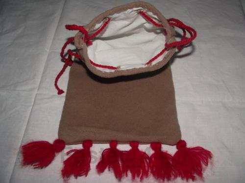 Duża sakwa na podstawie Kodeksu Manesse
