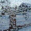 Śnieżynki na szybie #śnieżynki #śnieg #szron #zima #szyba