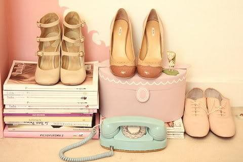 pastelowe buciki