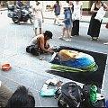 Florencja, malarz chodnikowy. #Florencja #Włochy #malarz #malarstwo #ulica