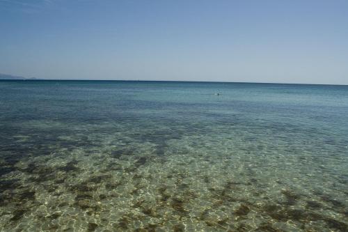 Wody Sardynii, krystalicznie czyste i naprawdę cieple...