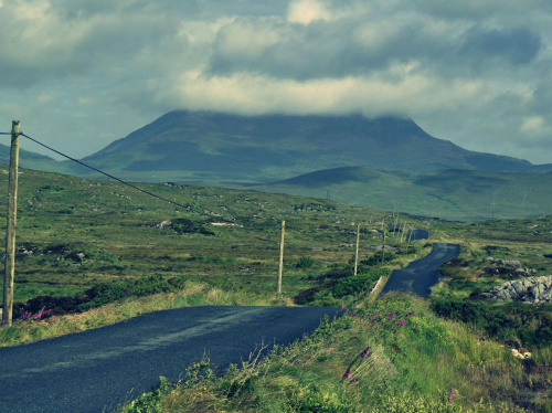 Vulcano #góra #widok #plener