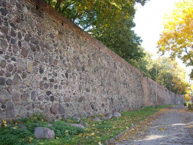 Mury obronne w Stargardzie. #Stargard