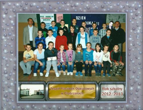 Klasa 6 Szkoła Podstawowa w Chobrzanach