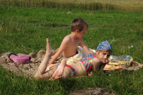 #dziecko #natura #lato