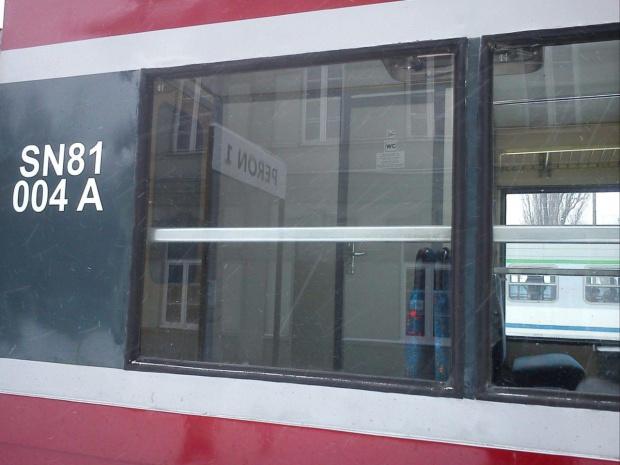 SN81-004 to wersja z WC na pokładzie. #pkp #PrzewozyRegionalne #łódź #opoczno #tomaszów #mazowiecki