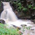 kaskada w drodze na Baranią Górę #kaskada #woda #BaraniaGóra