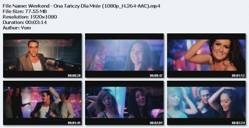 Weekend - Ona Ta?czy Dla Mnie (2012) HD 1080p