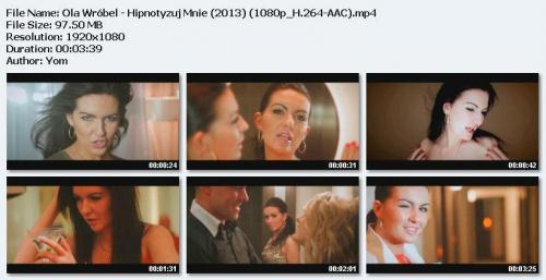 Ola Wróbel - Hipnotyzuj Mnie (2013) HD 1080p