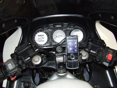 Uchwyt motocyklowy do GPS #yamaha #fj1200 #UchwytGps