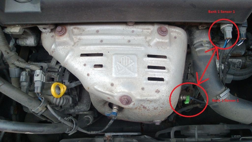 Viewtopic on 2003 toyota rav4 oxygen sensor location