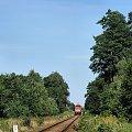 |20.08.09| SA106-019 jako pociąg 1126 do Chełmży. #osobowy #pkp #Dąbrowa_Chełmińska #Bydgoszcz #Chełmża #linia