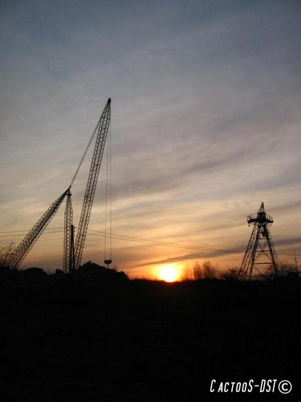 Zachód słońca #zachód #słońca #kamieniołomy #strzelin #artystyczne
