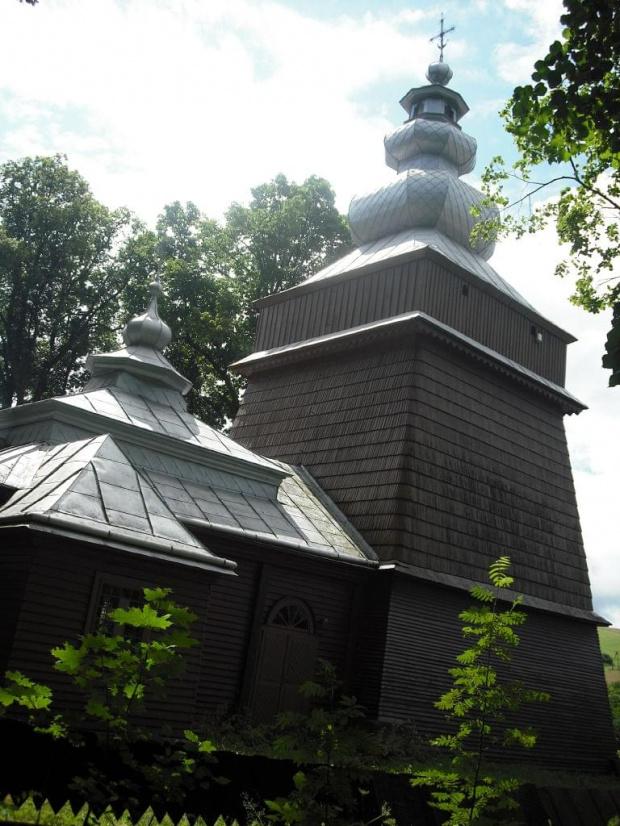 Muszynka-dawna cerkiew św.Jana Apostoła #DrewnianyKościółek