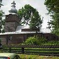 Tylicz-cerkiew św.Kosmy i Damiana #DrewnianyKościółek