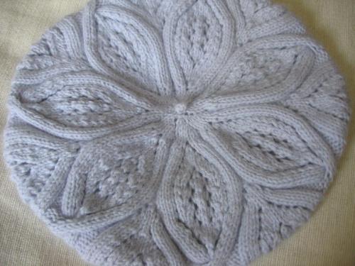Гардероб, Вязание спицами, : Берет ажурный для девочки. вязание шапок.