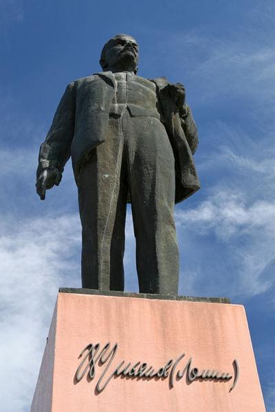Wladimir Uljanow w Bachczysaraju #ukraina #lenin