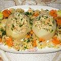Kalarepki faszerowane rybą #ryby #kalarepki #warzywa #obiad #jedzenie #gotowanie #kulinaria #PrzepisyKulinarne