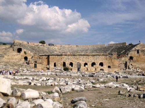 Pamukale, Hierapolis. Rzymski amfiteatr