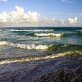 Morze karaibskie #karaiby #morze #widok #fale