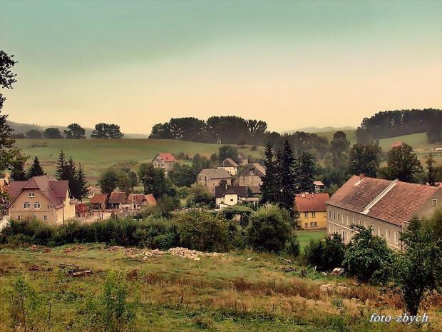 Wieś Pławna /dolnośląskie/ #wieś #widok