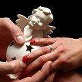 dotyk #dłonie #ręce #palce #anioł