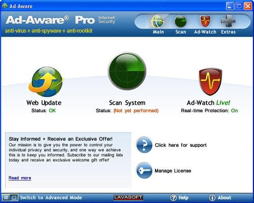 Ad-Aware Pro Internet Security 8.1.4
