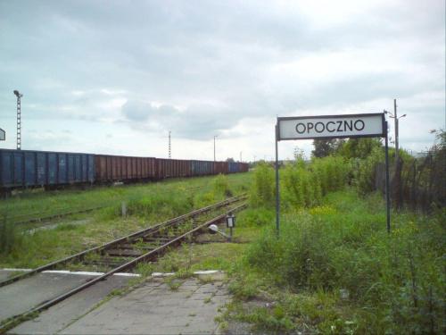 Stacja Opoczno, kierunek Tomaszów Mazowiecki. #PKP #Opoczno