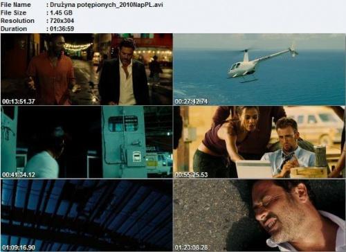 Drużyna potępionych / The Losers (2010) PL.DVDRip.XviD-LiBAN
