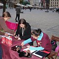 Stowarzyszenie Przyjaciół Fretek na Światowym Dniu Zwierząt _ Wrocław, Rynek 3 X 2010 #FAA #fretka #Wrocław #Rynek