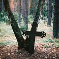 samotny krzyż #krzyże #mazury #cmentarz