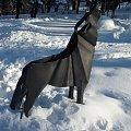 W Karpaczu pojawiły się znowu wilki :) #karpacz #zima #park