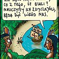 Nie bądź rasistą #rysunek #humor #rysunkowy #kultura #islam #muzułmanie #rasizm #imigracja #emigracja #indianie #cywilizacja #kolumb #santa #maria