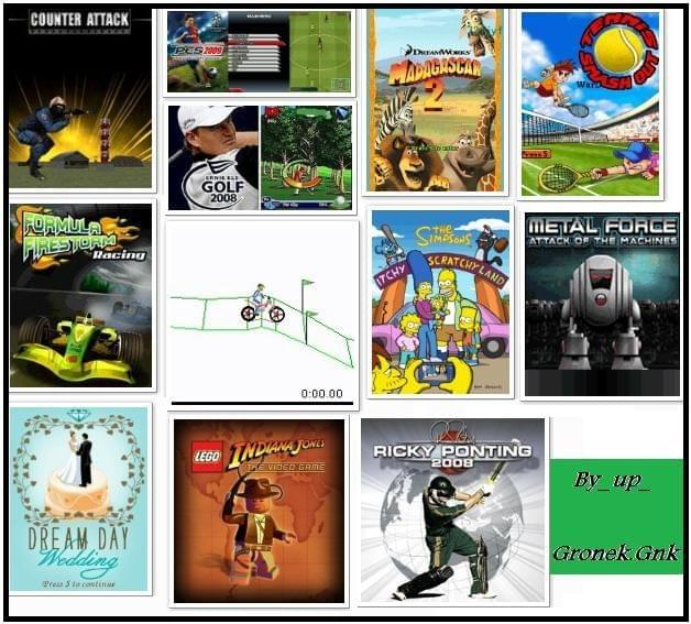 Paczki gier Java- temat zbiorczy