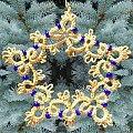 #frywolitka #frywolitki #gwiazdki #tatted #tatting #occi #xmas #christmas #star #snowflake