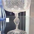 Kryształowy kielich-jeden z eksponatów w Muzeum Karkonoskim w Jeleniej Górze. #muzeum #JeleniaGóra #kieliszek