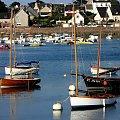 UROKI BRETANII ... #Bretania #jachty #zatoka #woda #urlop #podróże #łodzie