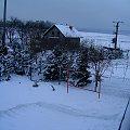 Atak Zimy 16.02.2009 Osiek/k.Olkusza. #zima #atak #mróz #przyroda #snieg #śnieg #luty #opad #płatek #mroźno #zaspy #góry #AtakZimy #chłód #zaspa #slisko #lód #drzewa #drzewo #natura #ogród #wieś #wioska #osiek #olkusz