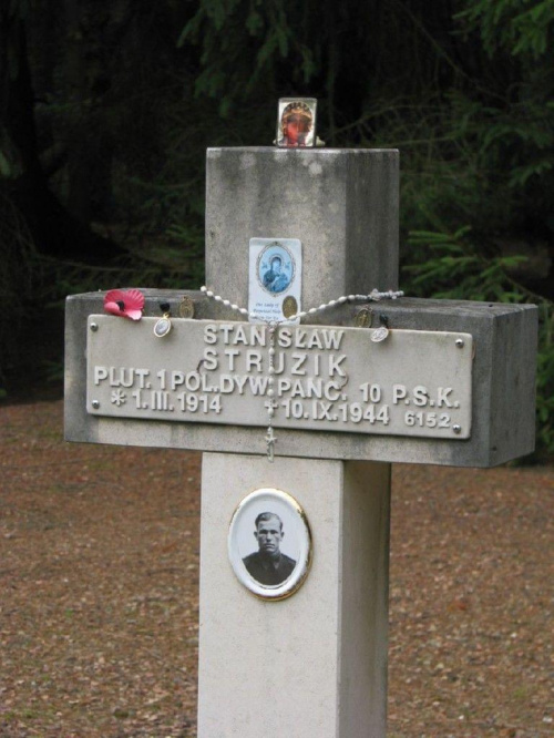 Cmentarz Maczkowców w Lommel - Belgia #Lommel #GenerałMaczek