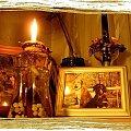 Zrobiło sie zimno i mokro więc znowu ją zapaliłam... #lampka #światło #płomień