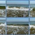 Naprawde piękne fale Bałtyku,jedna po drugiej.... #collage #inaczej #Bałtyk #fale #morze