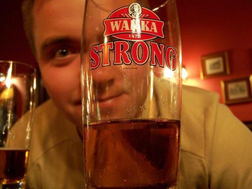 w dobrym towarzystwie piwko zawsze smakuje.. ;) #browar #piwo #ficiol007